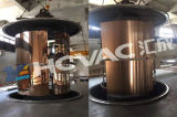 Grande solides solubles machine d'enduit titanique d'acier inoxydable de métallisation sous vide de la machine colorée