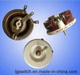 Résistances bobinées céramique rotatif du potentiomètre de la résistance du rhéostat 100W 50 ohms