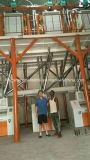 Полная строка филировальная машина мельницы маиса мозоли пшеницы рынка Африки муки