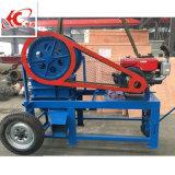 De kleine Maalmachine van de Kaak van de Steen van de Mijnbouw van de Dieselmotor PE250X400