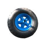 [هيغقوليتي] معدن حاجة عجلة مطّاطة هوائيّة لأنّ عربة يد و [هندترولّي]