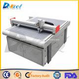 Máquina de corte de faca CNC de cartão ondulado para indústria de confecção de papel