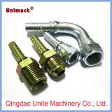 Qingdao JIC macho/hembra de tubo flexible hidráulico / Adaptador de tubería (16711) (26711)