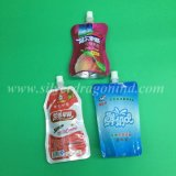 フルーツジュースのための袋の口