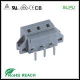 固定のフランジが付いている475/478のシリーズピッチ7.5mm PCBの端子ブロック