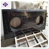Настраиваемые природных полированного черного гранита Кухонные мойки