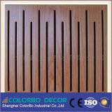 木MDFの防音の耐火性の音響パネル