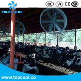 낙농장, 가금 및 돼지를 위한 효율성 기류 팬 공기 전달자