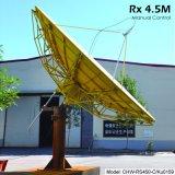 antenna satellite di 4.5m Rx soltanto (manuale)