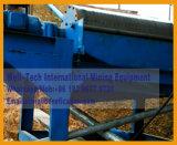 Pianta di lavaggio dello schermo del crivello a tamburo del minerale metallifero del niobio del tantalio del Congo