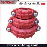 화재 안전 시스템을%s FM/UL 승인되는 연성이 있는 철 고압 엄밀한 연결