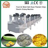 Los alimentos de la correa de malla de aire Secador eléctrico de chips de plátano de la máquina de secado