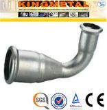 F304 / 316 de acero inoxidable de Prensa Conexiones La reducción de codo de 90 grados