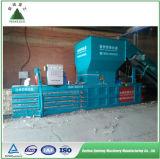 Máquina hidráulica do plástico do animal de estimação e da prensa do algodão de Cardboad
