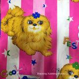 De hond, Beddegoed, de Polyester 75*75D, 170t/190t/210t, Geweven die Stof van 100%, voor de Textiel van het Huis wordt gebruikt, Afgedrukte Stof