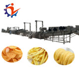 상업적인 감자 세척 껍질을 벗김 및 절단기 감자 칩 제품라인