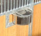 Оцинкованный Портативная деревянными лошадь стабильной панель ограждения