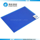 Polycarbonat PC Hollow Sunshade Sheet mit UVLayer