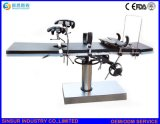 Mesas de operaciones manuales quirúrgicas del equipo fluoroscópico aprobado del hospital de ISO/Ce
