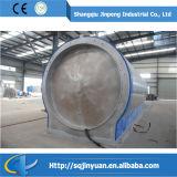 2015 Venta caliente neumático de residuos de la pirólisis de la máquina de refinación de petróleo