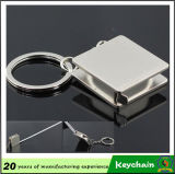 Metal modificado para requisitos particulares barco Keychain de Venezia