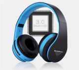 Auscultadores sem fio estereofónico de venda de Bluetooth dos auriculares do estilo popular da fábrica o melhor