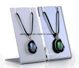 Fenêtre acrylique personnalisé de gros de bijoux BIJOUX bague collier afficher