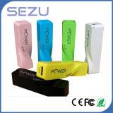 새로운 Design External Power 은행, Lipstick Portable Charger 2600mAh