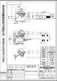4 broches de bonne qualité de l'interrupteur de réinitialisation de SMD/interrupteur à bouton poussoir