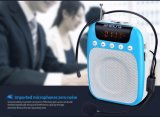 教師およびツアー・ガイドのための小型ポータブルFMの無線の声のアンプ