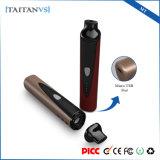 Titan-1 elegantes secan el cigarrillo electrónico Ecig de la calefacción de cerámica del vaporizador 1300mAh de la hierba