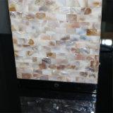 Lâmpada de tabela decorativa da cabeceira do quadrado do escudo de Natual do hotel moderno