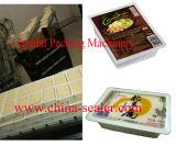 Máquina manual da selagem da bandeja da caixa do aferidor do calor