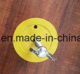Het rubber Rubber Vroegere Reces van de Bal met Schroeven en Vleugelmoeren voor de Toebehoren van de Bouw