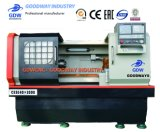 절단 금속 Vck6140를 위한 보편적인 수평한 기계로 가공 CNC 포탑 공작 기계 & 선반