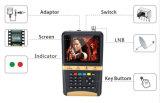 Метр искателя цифров большой индикации LCD спутниковый