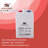 Baterias solares do gel da bateria 2V 350ah do sistema de energia do ciclo profundo