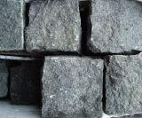 磨かれた、炎にあてられたG684 (黒い真珠)黒い花こう岩