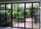 El rasgueo de la mano hizo Windows a mano de acero francés