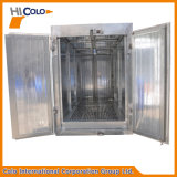 Revestimiento en polvo eléctrico hornos de curado