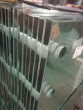 Ясное Tempered прокатанное стекло с отверстиями 21.52mm
