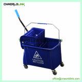 Building Étage de la production de nettoyage chariot de balai en plastique essoreuse
