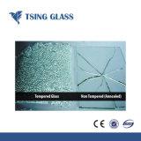 平ら/磨かれた端の穴のシルクスクリーンの印刷との3-19mmからの緩和されたガラスを曲げた