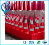 90 centímetros alta PVC Cone do tráfego com alta qualidade Collar Reflective
