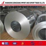 Chapas laminadas a frio em aço galvanizado de zinco folha na saída de fábrica da bobina