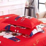 Soem, das in der China-Fertigung gebildet wurde, druckte Polyester-Bettwäsche-Set