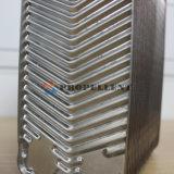 蒸気暖房のための銅によってろう付けされる版の熱交換器