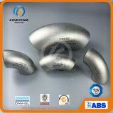 ASME B16.9 Racor de tubería de acero inoxidable wp316 90d codo (KT0201)
