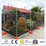 Temporärer Stahlaufbau-Zaun-Panel-Baustelle-temporärer Zaun