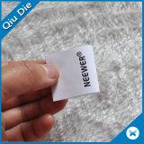 Etiket van de Zorg van de Was van de levering het Instructie Afgedrukte voor Kleding